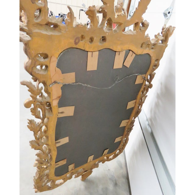 Italian Gilt Carved Wall Mirror - Image 6 of 6