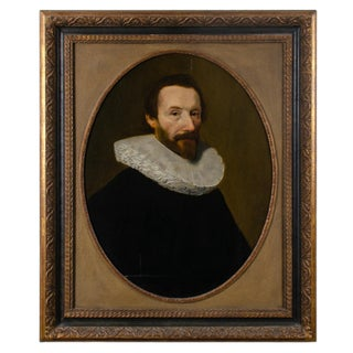 17th Century Dutch or British School Portrait of a Gentleman
