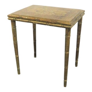 Florentine Gilt Painted Side Table For Sale