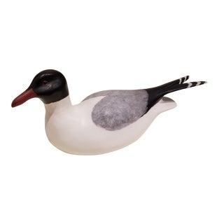 Seagull Decoy by F. M. Barteau For Sale