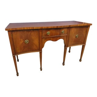 20th Century Traditional Mahogany George the III Sideboard For Sale