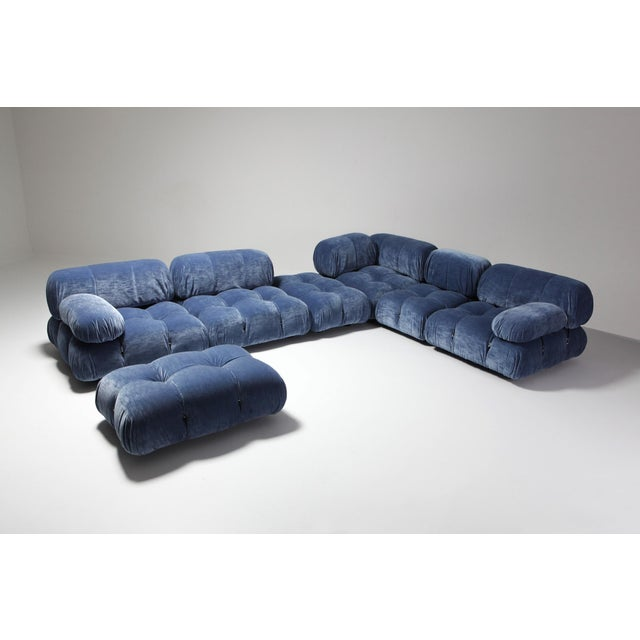 Mario Bellini designed this modular sectional sofa for C&B Italia in the 1970s. This is a rare edition from before 1973...