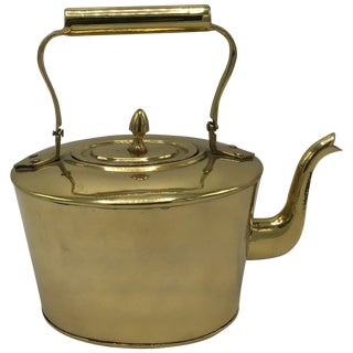 1980s Brass Teapot For Sale