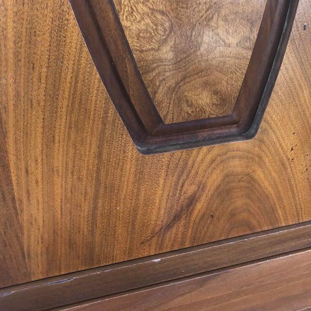 Mid-Century Modern Sliding Front Highboy Dresser For Sale - Image 11 of 13