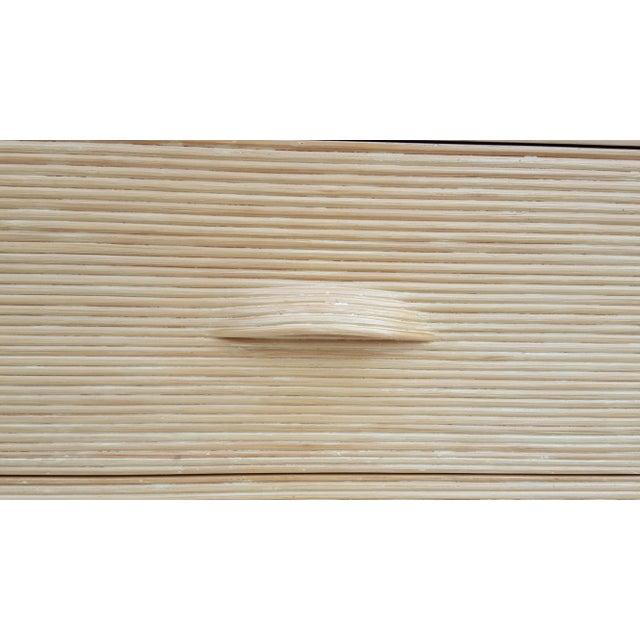 Gabriella Crespi Style Rattan Dresser. - Image 10 of 11