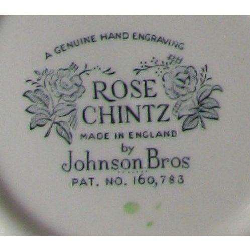 Vintage English Rose Chintz China Service - Set of 75 For Sale - Image 9 of 10