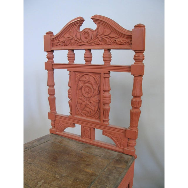 Industrial Pair of 19th Century English Cast Iron Chairs For Sale - Image 3 of 9