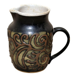 Art Pottery Pitcher