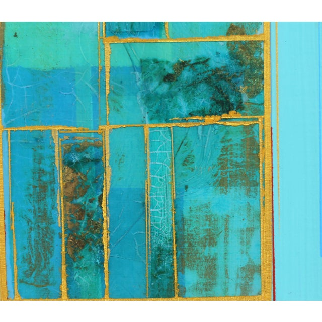 """2010s """"Elements No. 8"""" Original Abstract Mixed Media Painting by Alexander Eulert For Sale - Image 5 of 10"""