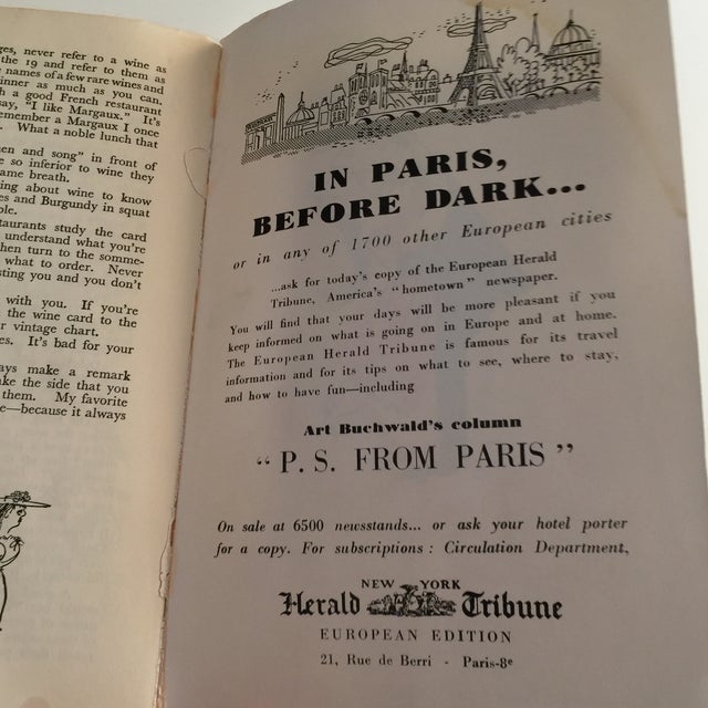 1950s 'Paris After Dark' Guidebook For Sale - Image 9 of 9