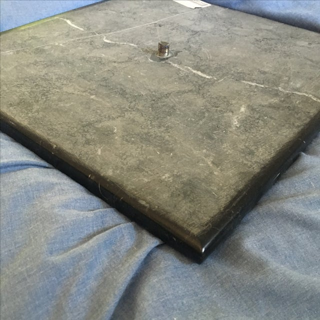 Ormolu-Mounted Black Marble Pedestals - Pair - Image 9 of 11