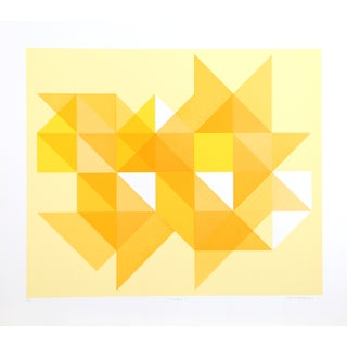 Arnold Hoffman, Jr., Triangle Y, Silkscreen For Sale