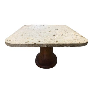 1970s Natural Coral Dining Table For Sale