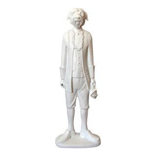 Scottie Dog Man Statue