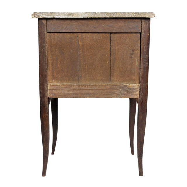 Louis XVI Mahogany Petit Commode For Sale - Image 9 of 10