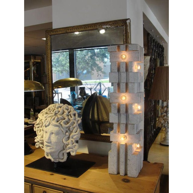 "Mangiarotti Marble Lamp ""Table or Floor"" - Image 2 of 5"