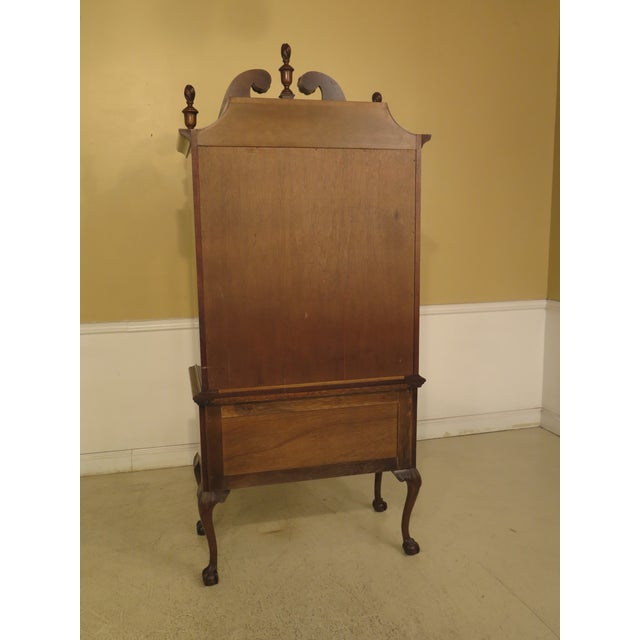 Kittinger Old Dominion Collection Mahogany Highboy For Sale - Image 10 of 12