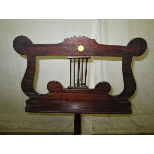 Tindale Carved Mahogany Music Stand - Image 2 of 7
