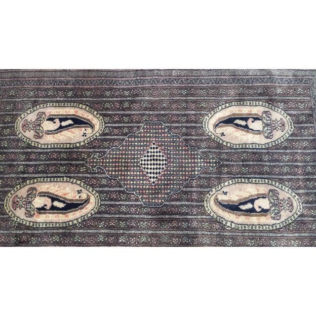 Medallion Boteh Motif Rug - 3′11″ × 6′3″ For Sale - Image 12 of 13