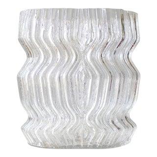 Tapio Wirkkala for Rosenthal Studio Line Sculptural Crystal Vase