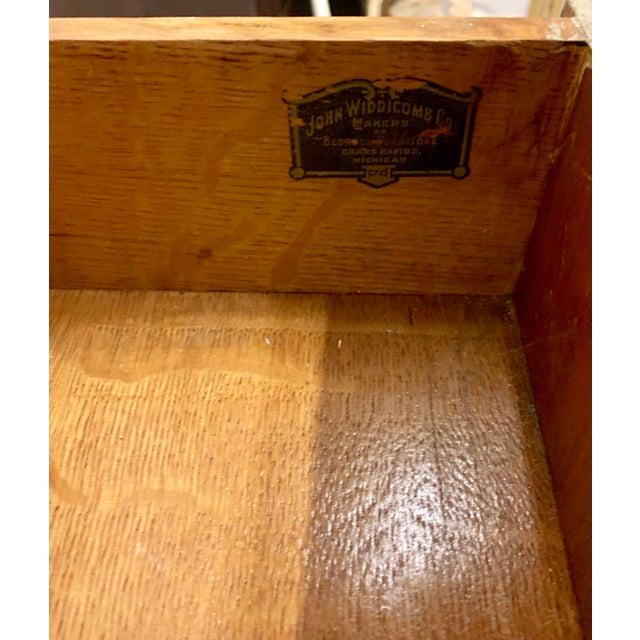 John Widdicomb John Widdicomb Sunburst Front Secretary Desk For Sale - Image 4 of 11