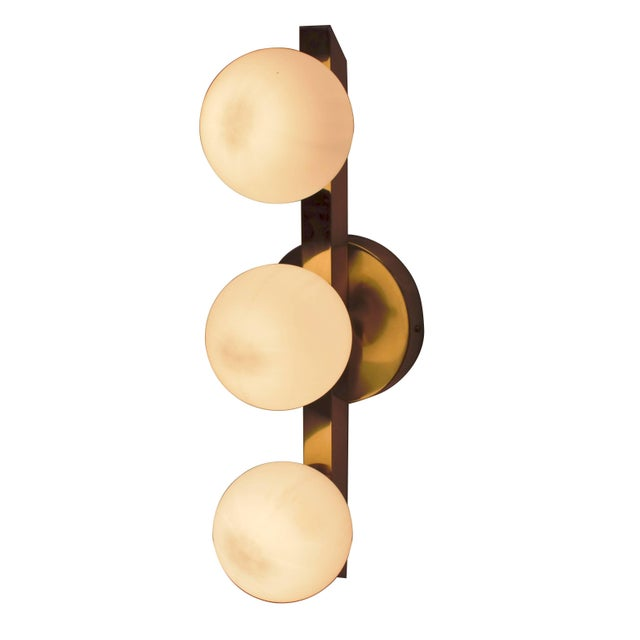 Six Terzetto Sconces / Flush Mounts by Fabio Ltd For Sale In Palm Springs - Image 6 of 6