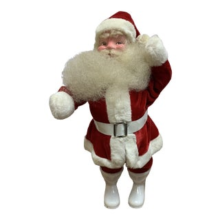 1950s Standing Santa Claus Figure For Sale