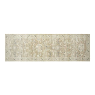 """Contemporary Egyptian Sultanabad Carpet - 4'8"""" X 14'8"""" For Sale"""