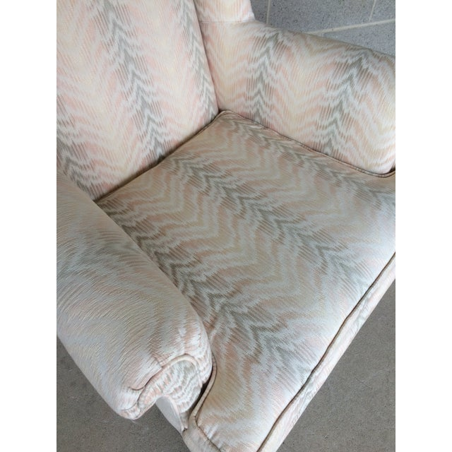Drexel Traditional Classics Chippendale Style Wing Back Chairs - A Pair - Image 6 of 9