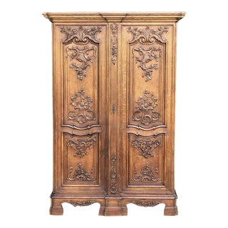 Antique French Louis XIV Petit Armoire ~ Bonnetiere For Sale