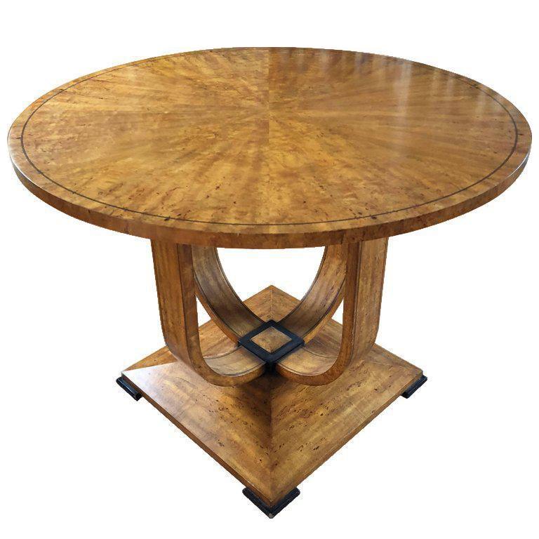 20th Century Biedermeier Style Center Table