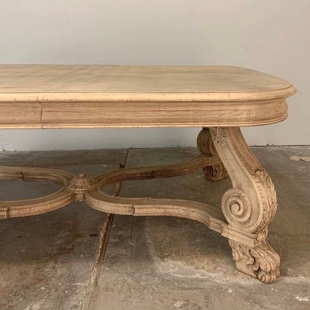 Antique Louis XIV Stripped Parquet Coffee Table For Sale In Dallas - Image 6 of 13