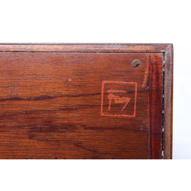 """Frank Lloyd Wright """"Taliesin"""" Nightstands for Henredon For Sale - Image 10 of 11"""
