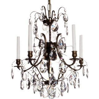 Baroque Pompe Chandelier For Sale