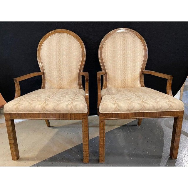 Mid-Century Modern Milo Baughman Arm or Office Chairs, Mid-Century Modern, Mastercraft - a Pair For Sale - Image 3 of 12