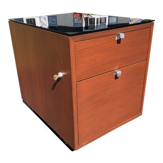 1950s George Nelson for Herman Miller Mid Century Modern Filing Cabinet For Sale