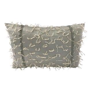 """Fabricut Light Mint Green Newly Made Custom 18"""" X 12"""" Pillow For Sale"""