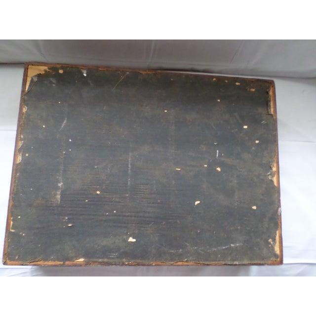 Antique Golden Oak Silver Chest /Service Box for Flatware For Sale - Image 9 of 11