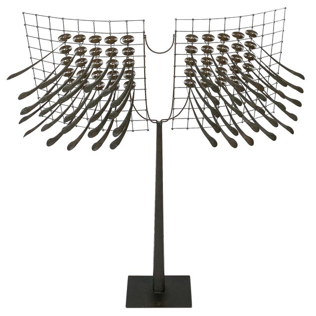Christoph Bollinger Abstract Kinetic Sculpture For Sale