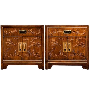 """Drexel Heritage """"Dynasty"""" Nightstands - a Pair For Sale"""