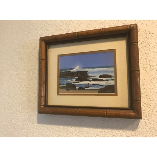 Signed Patrick Doell The North Shore Painting For Sale - Image 5 of 5