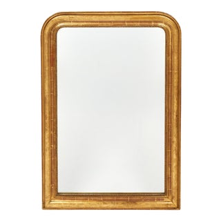 Louis Philippe Period Gold-Leaf Mirror For Sale