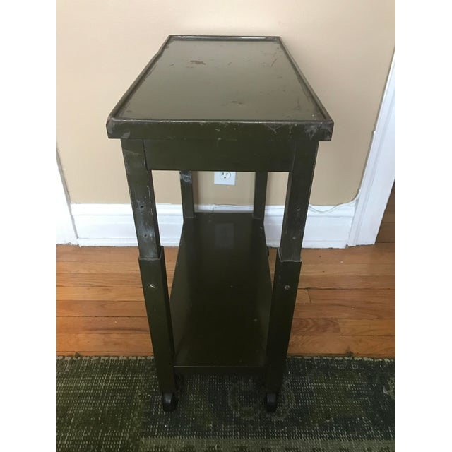 Vintage Industrial Side Table - Image 3 of 3