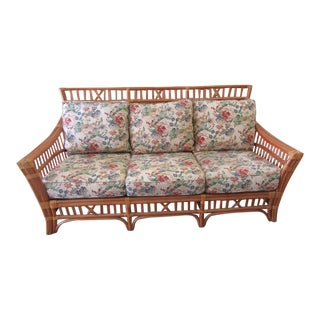 Bamboo High Back Sofa For Sale
