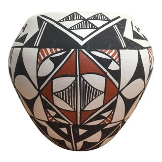 Native American Acoma Pottery Pot For Sale