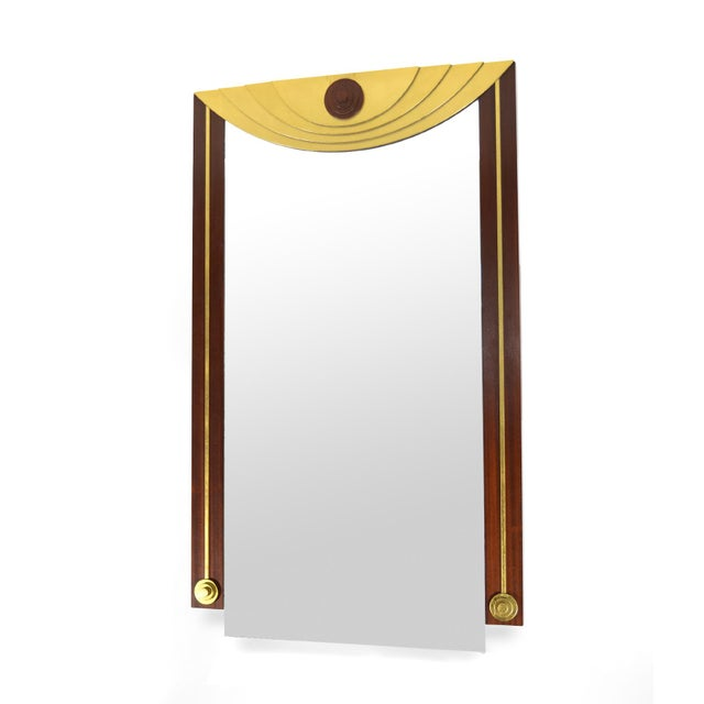Post-Modern Wall Mirror For Sale - Image 4 of 7