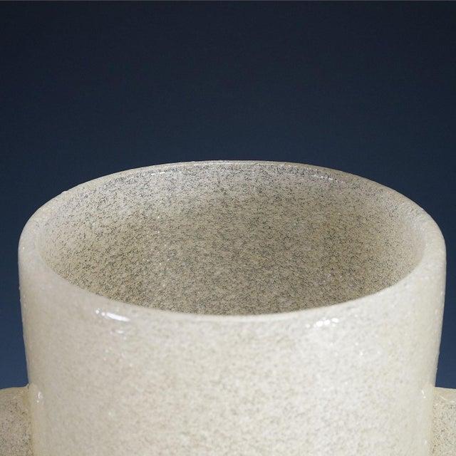 Carlo Scarpa 'A Bollicine' Glass Vase for Venini Ca. 1932 For Sale - Image 6 of 10