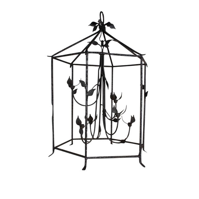 Giacometti Inspired Lantern For Sale - Image 4 of 4