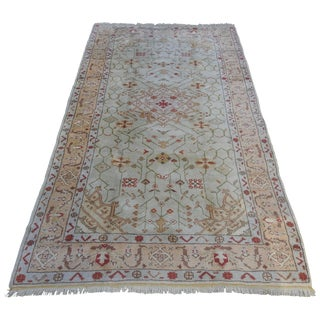 Early 20th Century Oushak Rug For Sale
