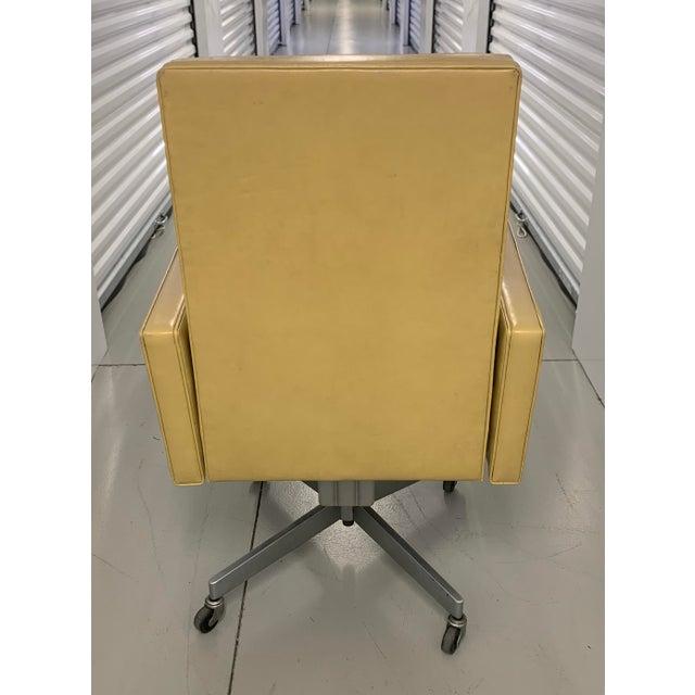 Mid 20th Century Steelcase Mid Century Swivel Tilt Desk Chair For Sale - Image 5 of 13